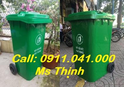 Đại lý chuyên thùng rác 120l 240l thùng rác giá rẻ lh 0911.041.000