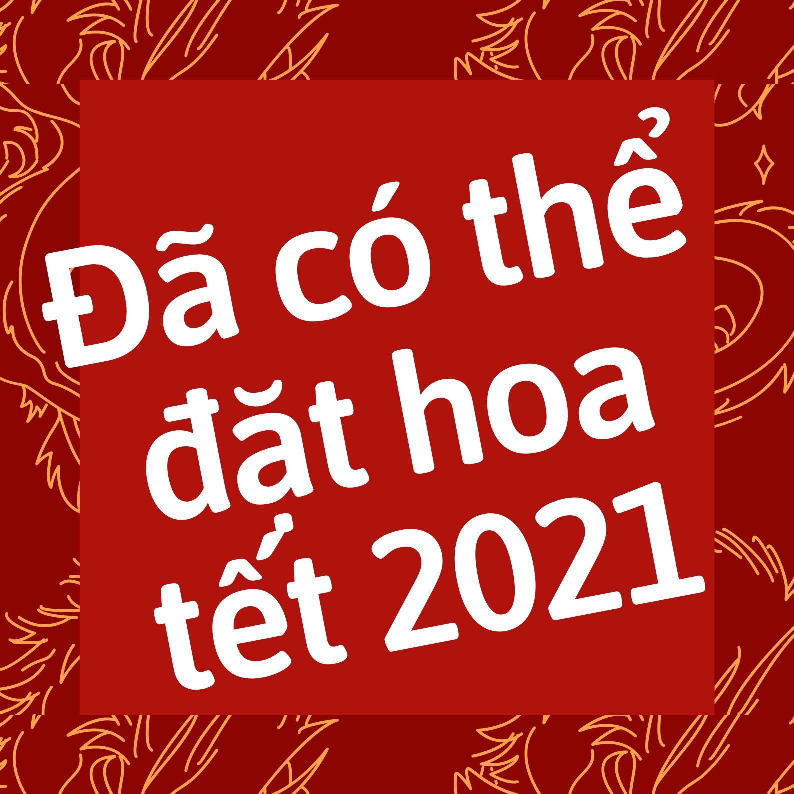 Đặt hoa Tết Tân Sửu 2021 tại Muôn Hoa