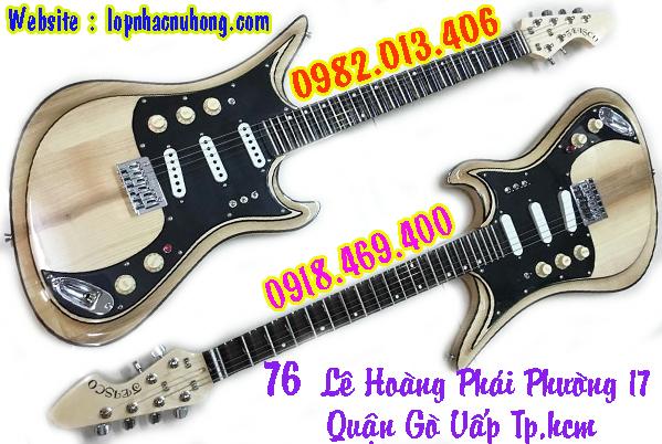 Electric guitar ( phím lõm )