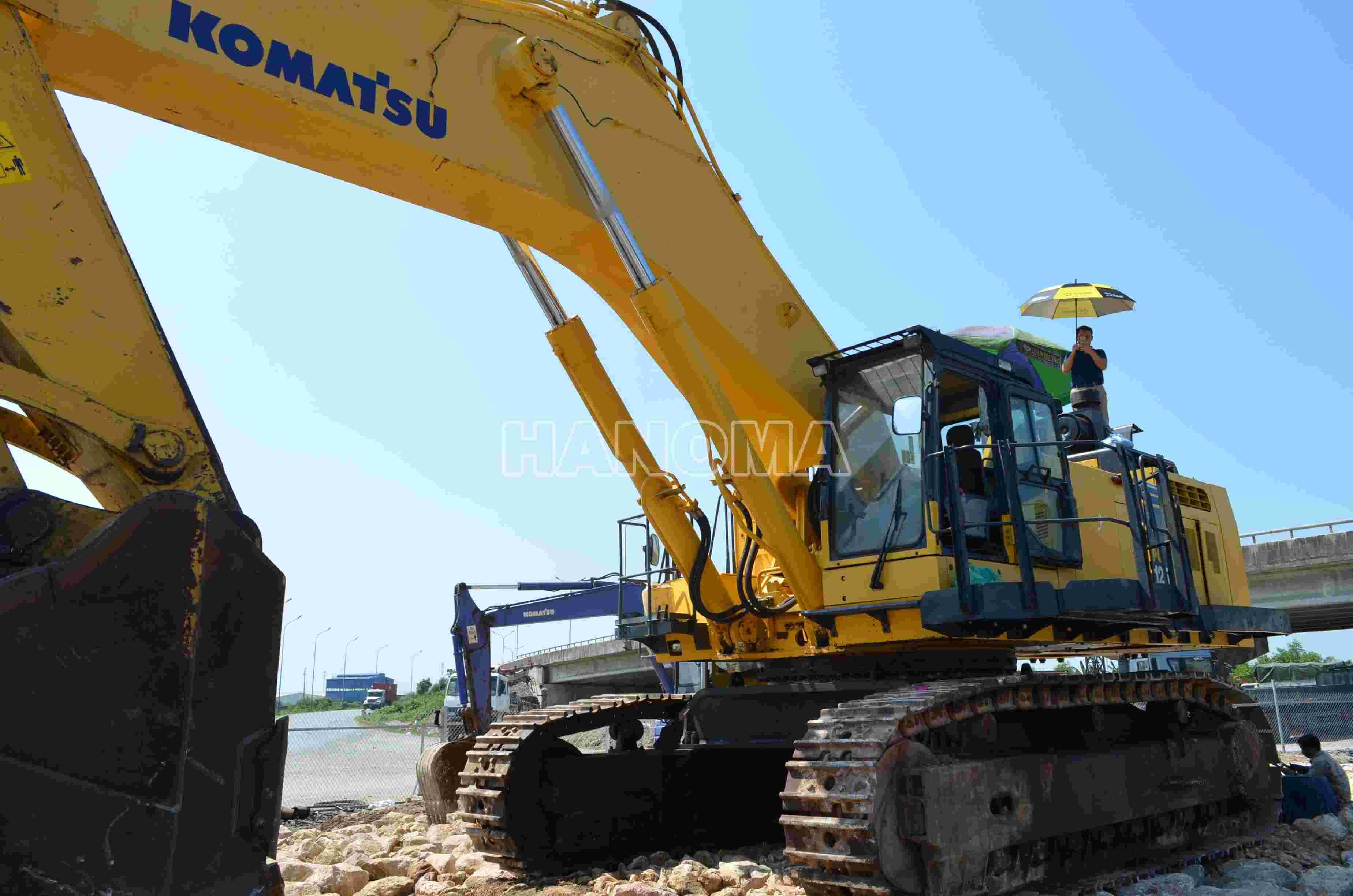 Bán máy xúc đào KOMATSU PC1250SP-8R 2019